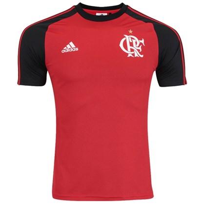 Camisa Flamengo Adidas Poliéster I BK7096 - EsporteLegal 54f7488bb0727