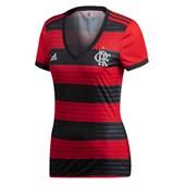Camisa Flamengo Adidas Torcedor 2018 Feminina