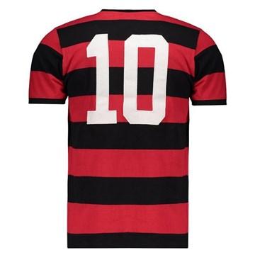 Camisa Flamengo Braziline Fla Tri Zico Masculina