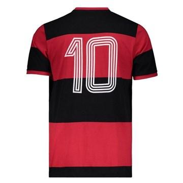 Camisa Flamengo Braziline Libertadores 81 Zico Masculina