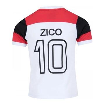 Camisa Flamengo Braziline Retrô Zico Infantil