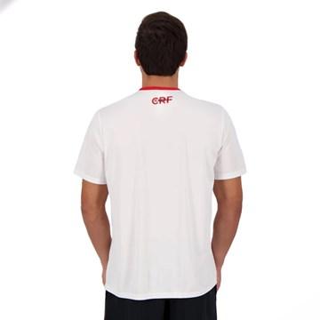 Camisa Flamengo Braziline Talent Masculina - Branco