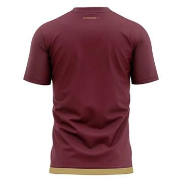 Camisa Fluminense Braziline Contact Masculina - Vinho