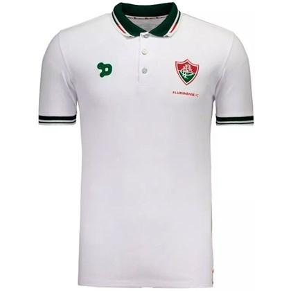 Camisa Fluminense Dry World Polo Viagem 1F020 - EsporteLegal a25f09bf402cd