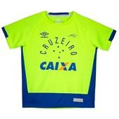 Camisa Goleiro Cruzeiro Oficial 2016 Juvenil Umbro