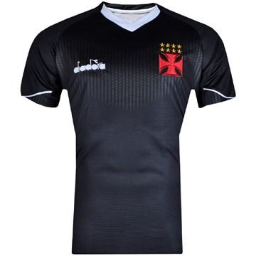 Camisa Goleiro Diadora Vasco Oficial III 2018 Masculina