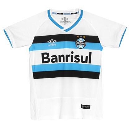 5f86cc120358f Camisa Gremio Oficial Umbro Juvenil 3G00057 - EsporteLegal