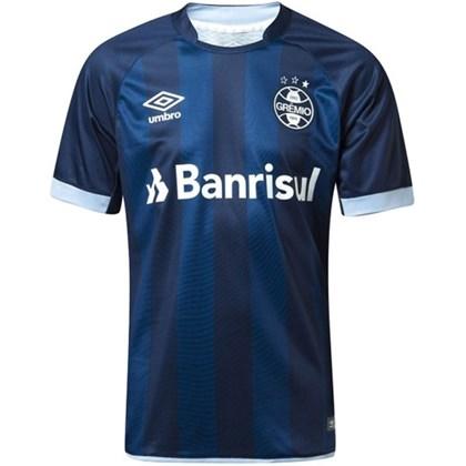 784ea02fb Camisa Grêmio Umbro Oficial 2017 18 S N - EsporteLegal