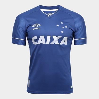 08f1918d60f3e Camisa Juvenil Cruzeiro Umbro Oficial 3 2017 2018 - EsporteLegal