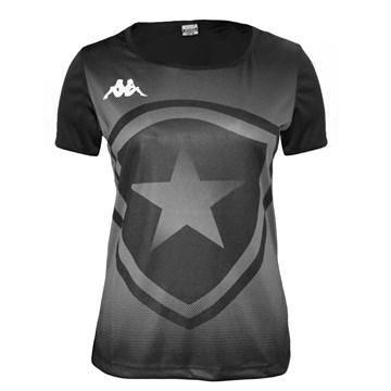 Camisa Kappa Botafogo Escudo Torcedor Feminina