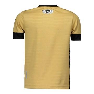 Camisa Kappa Botafogo Goleiro III 2021 Masculina - Dourado