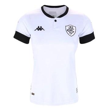 Camisa Kappa Botafogo Oficial III 2020/21 Feminina - Branco