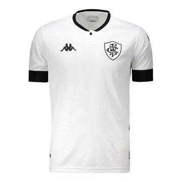 Camisa Kappa Botafogo Oficial III 2020/21 Infantil - Branco