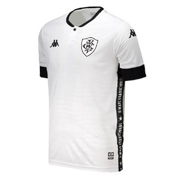 Camisa Kappa Botafogo Oficial III 2021 Juvenil - Branco