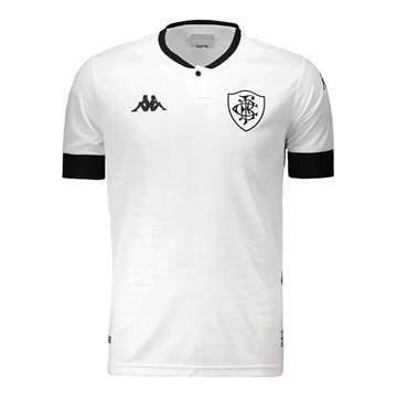 Camisa Kappa Botafogo Oficial III 2021 Masculina - Branco