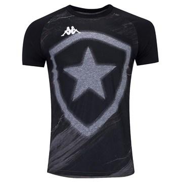 Camisa Kappa Botafogo Torcedor Fio Tinto Masculina