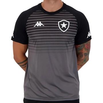 Camisa Kappa Botafogo Treino Comissão 2021 Masculina