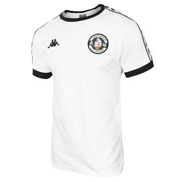 Camisa Kappa Vasco Concentração 20/21 Masculina - Branco