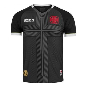 Camisa Kappa Vasco Nosso CT 2020 Masculina - Preto