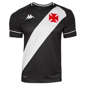 Camisa Kappa Vasco Oficial I 2020 Juvenil