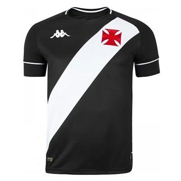 Camisa Kappa Vasco Oficial I 2020 Plus Size Masculina - Preto