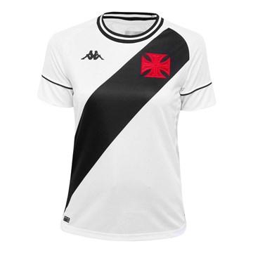 Camisa Kappa Vasco Oficial II 2020 Feminina