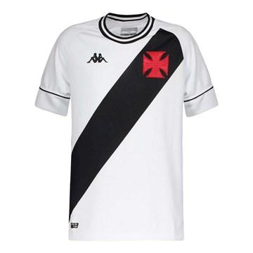Camisa Kappa Vasco Oficial II 2020 Infantil