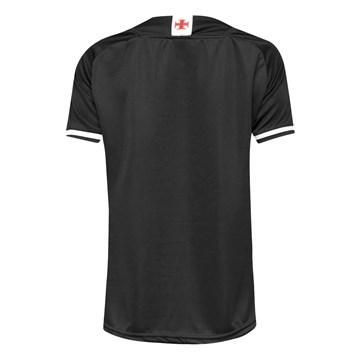 Camisa Kappa Vasco Oficial III 2021/22 Feminina - Preto