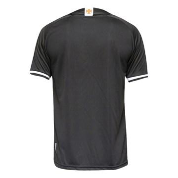 Camisa Kappa Vasco Oficial III 2021/22 Plus Size Masculina - Preto