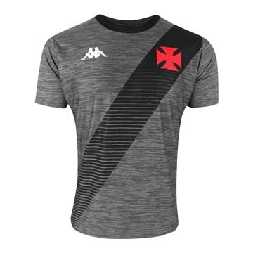 Camisa Kappa Vasco Supporter Mixed Masculina - Mescla