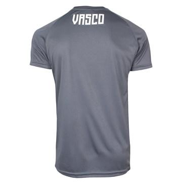 Camisa Kappa Vasco Treino 2020 Masculina - Azul e Grafite