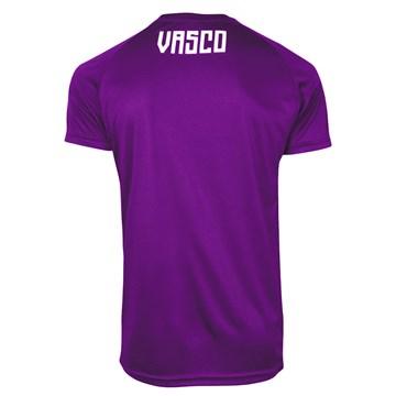 Camisa Kappa Vasco Treino Goleiro 2020 Masculina - Grafite e Roxo