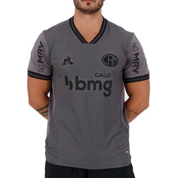 Camisa Le Coq Sportif Atlético Mineiro III 2020 Masculina - Cinza
