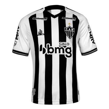 Camisa Le Coq Sportif Atlético Mineiro Oficial I 2020 Feminina - Preto e Branco
