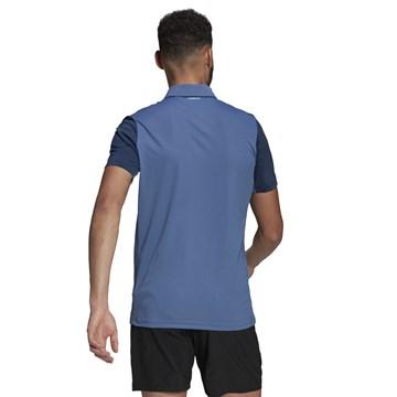Camisa Polo Adidas Club Tennis Masculina - Azul