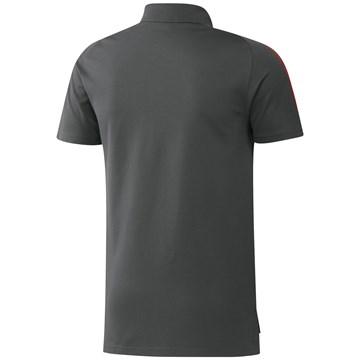 Camisa Polo Adidas Flamengo 2021/22 Masculina - Chumbo