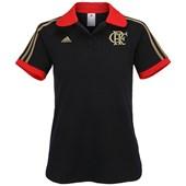 Camisa Polo Adidas Flamengo Feminina