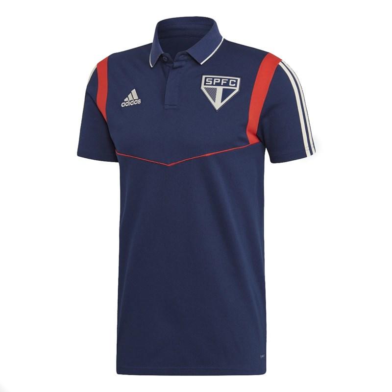 Camisa Polo Adidas São Paulo Viagem 2019