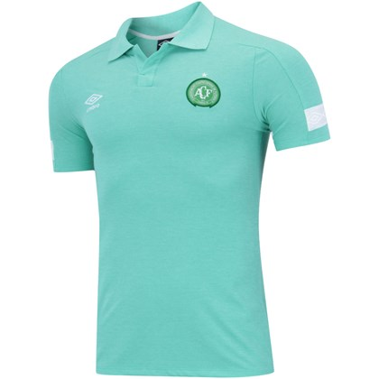 79442c93cc6f0 Camisa Polo Chapecoense Viagem 2018 Umbro Masculina - EsporteLegal