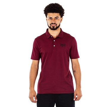 Camisa Polo Everlast Fundamentals Masculina - Vinho