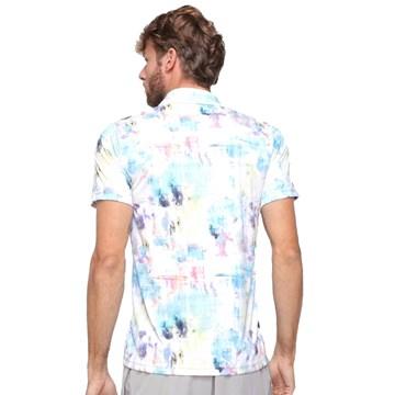 Camisa Polo Fila Aztec Box Colors Masculino