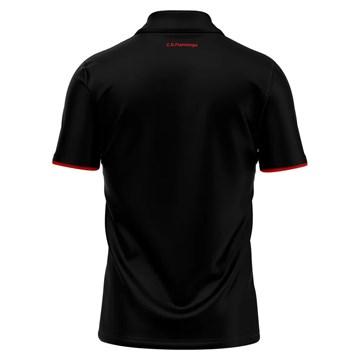 Camisa Polo Flamengo Braziline Score Masculina - Preto