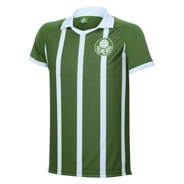 Camisa Polo Kappa Palmeiras Striped Masculina