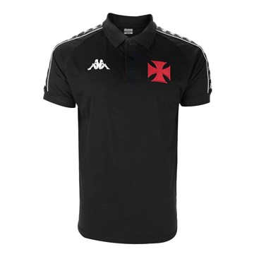 Camisa Polo Kappa Vasco Comissão 2020 Masculina