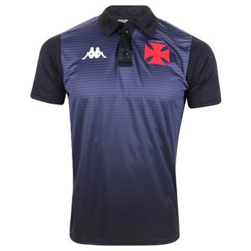 Camisa Polo Kappa Vasco Supporter Masculina