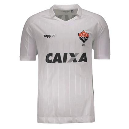 Camisa Polo Topper Vitória II Masculina - Branco - Esporte Legal 61ab69e9b5573