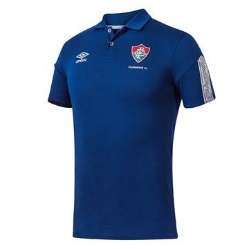 Camisa Polo Umbro Fluminense Viagem 2020 Masculina
