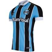 Camisa Polo Umbro Grêmio Oficial I 2019 Masculina