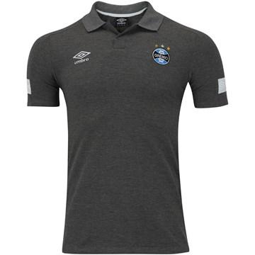 Camisa Polo Umbro Grêmio Viagem 2018 Masculina