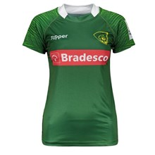 Camisa Rugby Topper Brasil Oficial II 2017 Feminina